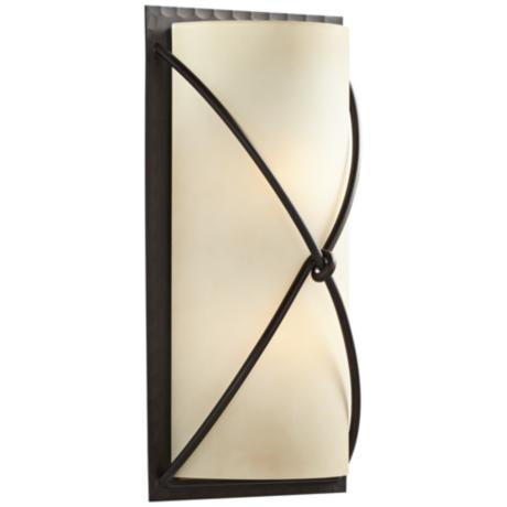"Minka Knotted Iron 18 1/2"" High Wall Sconce"