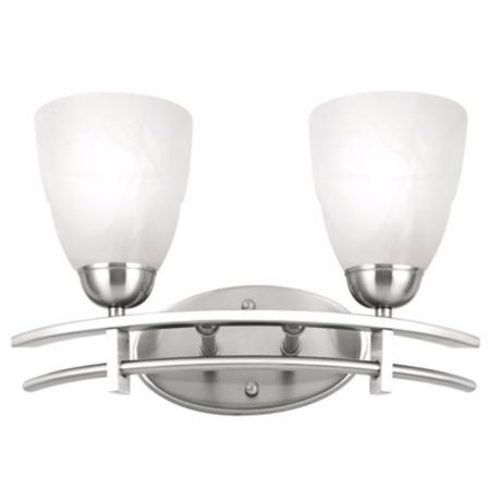 "Possini Deco Nickel Collection 15 3/4"" Bath Light Fixture"