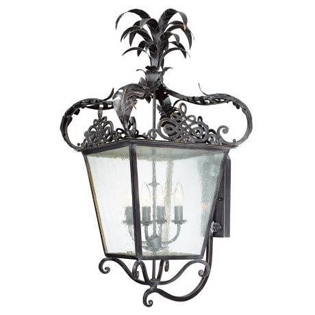"Portola Collection 36"" High Verona Bronze Outdoor Wall Light"