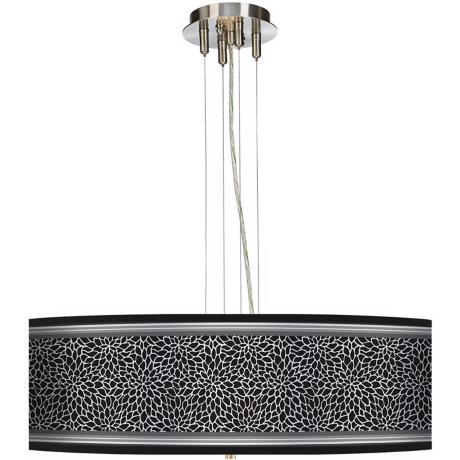 "Stacy Garcia Metropolitan Dahlia 24"" Wide 4-Light Pendant"
