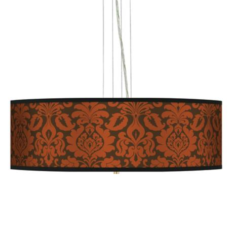 "Stacy Garcia Spice Florence 24"" Wide 4-Light Pendant Light"