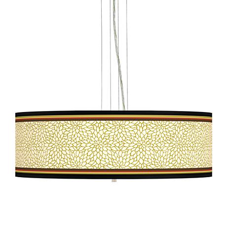 "Stacy Garcia Spice Dahlia 24"" Wide 4-Light Pendant Light"