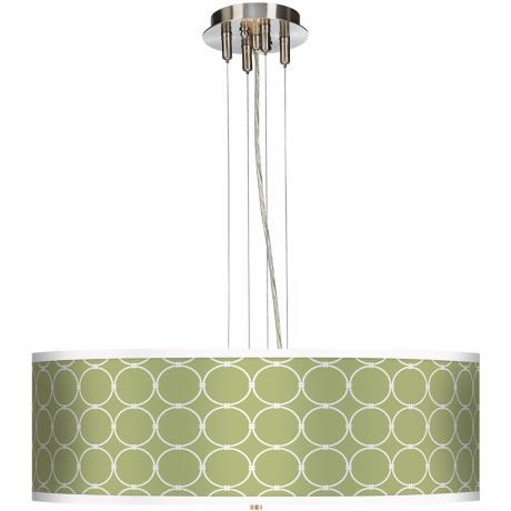 "Spring Interlace 24"" Wide 4-Light Pendant Chandelier"