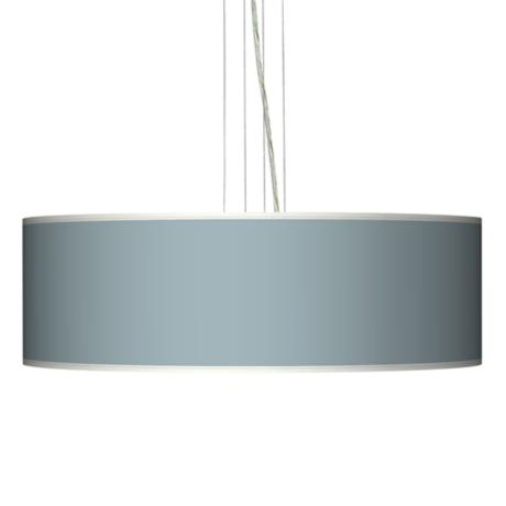 "Aqua Sphere 24"" Wide Four Light Pendant Chandelier"