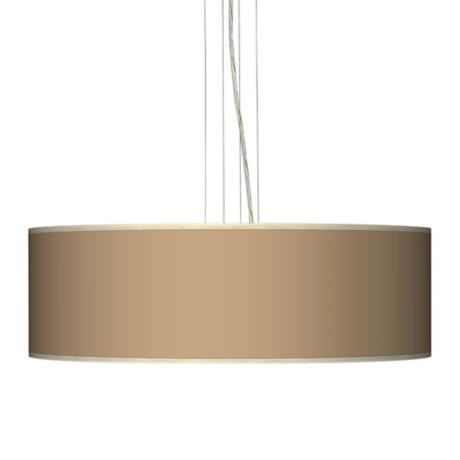 "Mesa Tan 24"" Wide Four Light Pendant Chandelier"