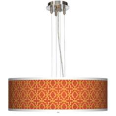 "Stacy Garcia Santorini Sunset 24"" Wide 4-Light Pendant Light"