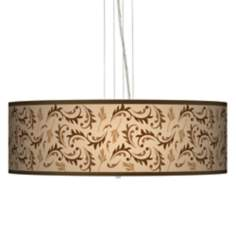 "Fall Breeze 24"" Wide 4-Light Pendant Chandelier"