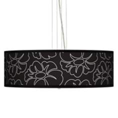 "Summer Silhouette 24"" Wide 4-Light Pendant Chandelier"