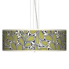 "Stacy Garcia Rain Metal 24"" Wide 4-Light Pendant Light"