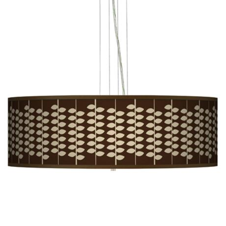 "Hi Fi Giclee 24"" Wide 4-Light Pendant Chandelier"