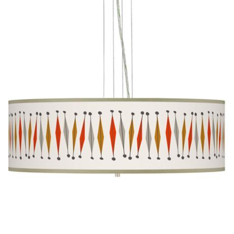 "Tremble 24"" Wide 4-Light Pendant Chandelier"