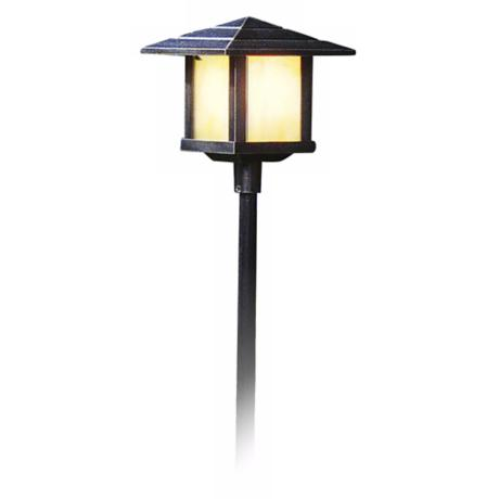 "Kayenta Collection Weathered Bronze 26 5/8"" High Path Light"