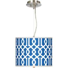 "Chain Reaction Giclee 13 1/2"" Wide Pendant Chandelier"