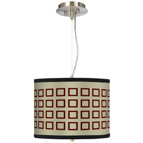 "Simply Squares 13 1/2"" Wide Pendant Chandelier"