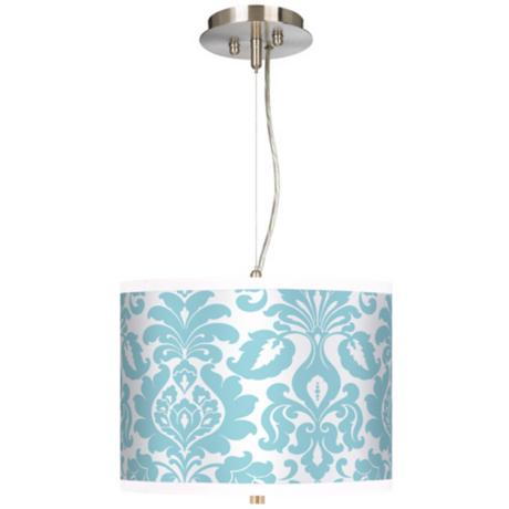 "Stacy Garcia Landscape Florence 13 1/2"" Wide Pendant Light"