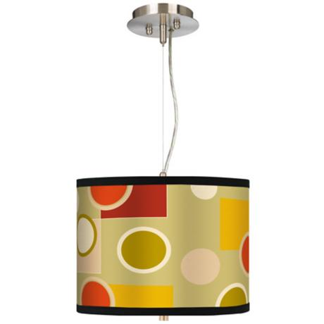 "Retro Citrus Medley 13 1/2"" Wide Pendant Chandelier"