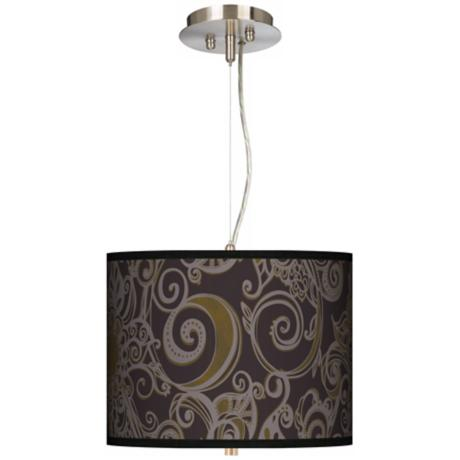 "Stacy Garcia Ornament Metal 13 1/2"" Pendant Chandelier"