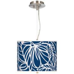Jungle Rain Giclee 2-Light Pendant Chandelier