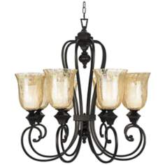 Elba Collection Eight Light Chandelier