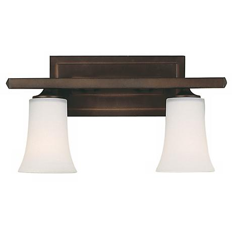 "Feiss Boulevard Collection 16"" Wide Bathroom Light Fixture"