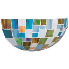 "Kichler Mosaic Glass ENERGY STAR 5 1/2"" High Wall Sconce"