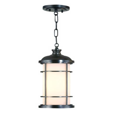 Feiss Lighthouse Collection Bronze Outdoor Hanging Lantern