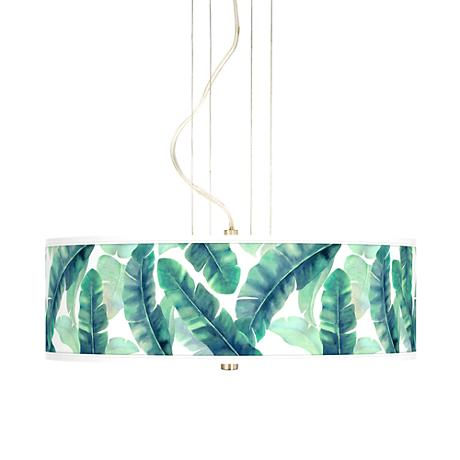 "Guinea 20"" Wide 3-Light Pendant Chandelier"