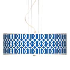 "Chain Reaction 20"" Wide 3-Light Pendant Chandelier"