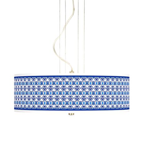 "Indigo Path 20"" Wide 3-Light Pendant Chandelier"