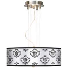 "French Crest 20"" Wide 3-Light Pendant Chandelier"