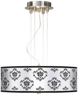 French Crest 20 Wide 3-Light Pendant Chandelier (17822-J0168)