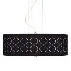 "Portholes 20"" Wide 3-Light Pendant Chandelier"