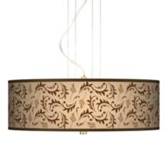 "Fall Breeze 20"" Wide 3-Light Pendant Chandelier"