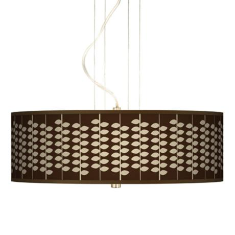 "Hi Fi 20"" Wide 3-Light Pendant Chandelier"