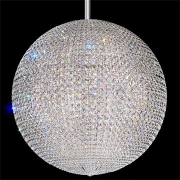 Schonbek Da Vinci Multicolored LED Globe Chandelier