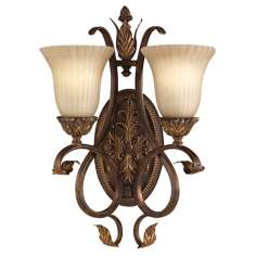 "Sonoma Valley Collection 19 1/2"" High Two Light Wall Sconce"