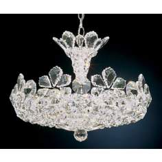 "Schonbek Trilliane Collection 20 1/2"" Crystal Chandelier"