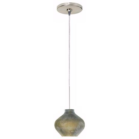 Scavo Green Glass Tech Lighting Mini Pendant