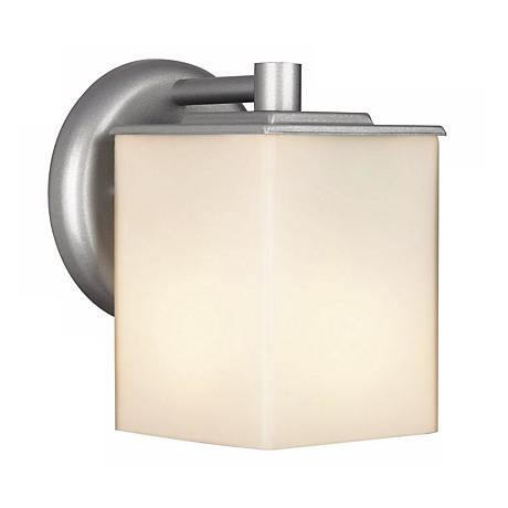 "Philips Midnight Collection 7"" Square Silver Outdoor Light"