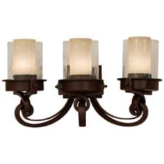 "Newport Collection Bronze 23 1/2"" Wide Bathroom Light"