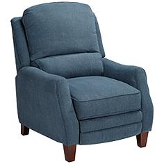 Weston Diver Teal Recliner Chair
