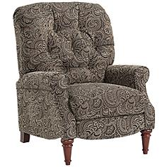 Wordsworth Tufted Paisley 3-Way Pushback Recliner Chair