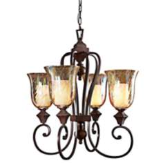 Elba Four Light Chandelier