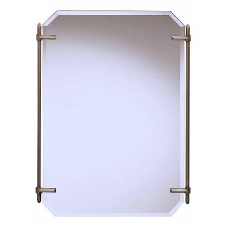 "Kichler Pewter Polygon  32"" High Wall Mirror"