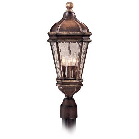 "Marietta Collection 21 3/4"" High Post Mount Outdoor Light"