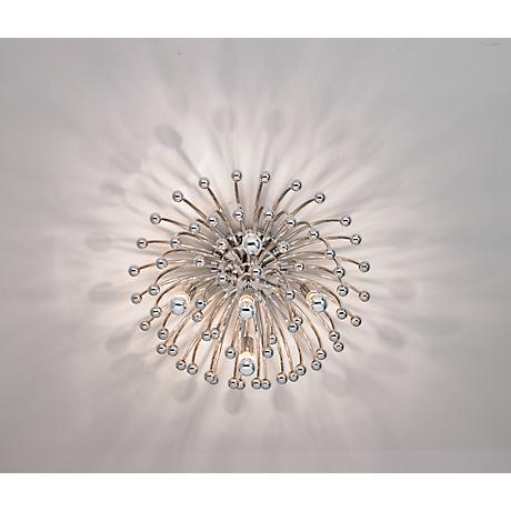 "Robert Abbey Anemone 23 1/2"" Wide Ceiling/Wall Light Fixture"