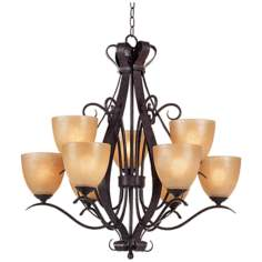 Modella Collection Nine Light Chandelier
