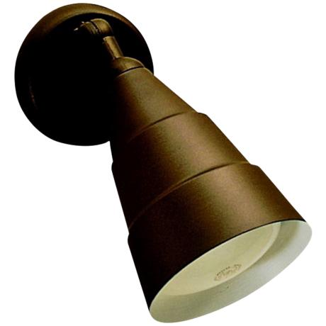 Wet Location Bronze Single Head Outdoor Flood Light