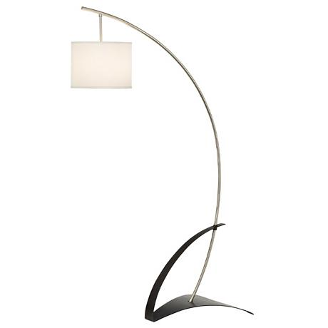 Possini Euro Geometric Arc Floor Lamp