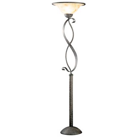 High Country Collection Torchiere Style Floor Lamp